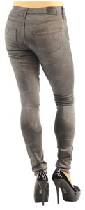 True Religion X Joan Smalls Skinny Womens Jeggings-Light Wash