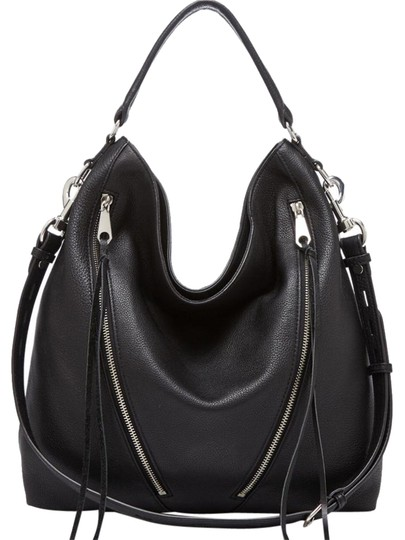 Preload https://img-static.tradesy.com/item/20622659/rebecca-minkoff-black-leather-hobo-bag-0-1-540-540.jpg