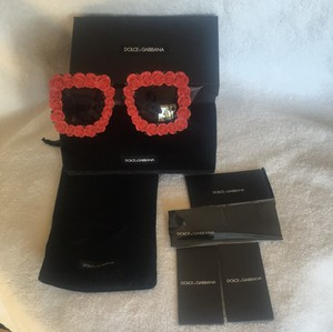 Dolce&Gabbana Dolce Gabbana Sunglasses Red Spanish Rose - New
