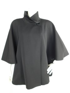 Cinzia Rocca Wool Coat Reversible Cape
