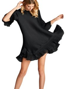 Nabisplace short dress Black Pleats Issey Miyake Mini on Tradesy