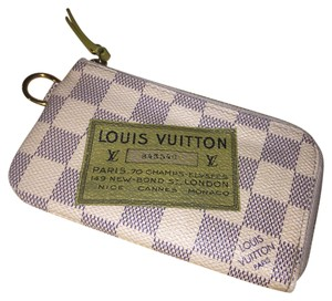 Louis Vuitton cles coin key case azur