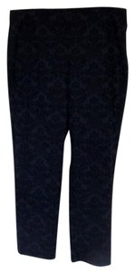 Foxcroft Embellished Trouser Pants Dark Blue