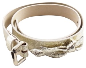 Marc by Marc Jacobs NWT Gold Bow Belt