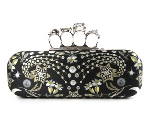 Alexander McQueen Black-Multi Clutch