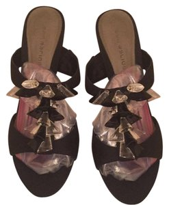 Ann Marino Formal Fabric Sandals