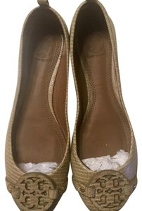 Tory Burch Trench Tan Flats