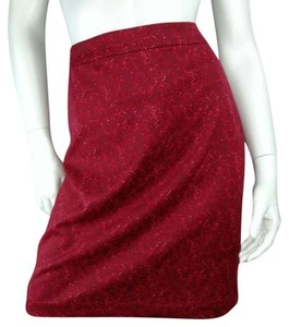 Michael Kors Skirt red
