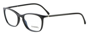 Chanel NEW Rectangular Signature Eyeglasses CH 3281A c. 501 in Black 54mm