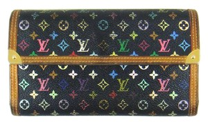 Louis Vuitton Multicolor Monogram International Long Wallet