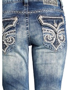 Affliction Boot Cut Jeans-Light Wash