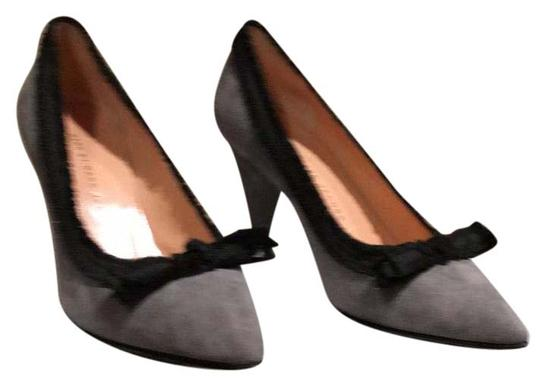 Marc by Marc Jacobs Gray and Black Pumps Image 0
