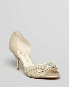Ivanka Trump Platinum - Nanci2 Open Toe Pumps Size US 8.5