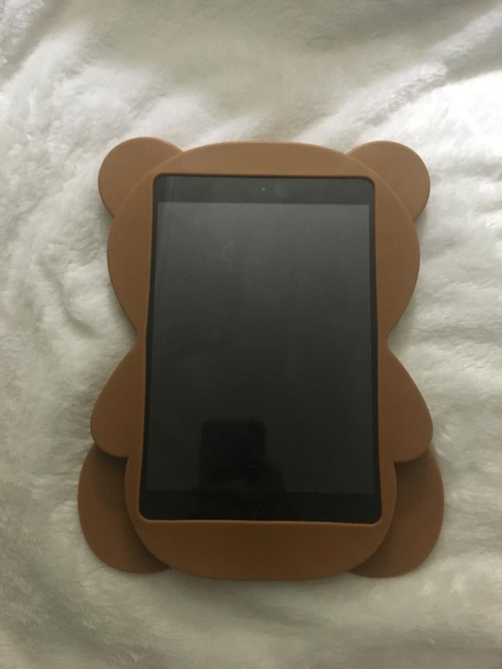 cheap for discount 27321 f75b4 Moschino Brown Not A Toy Ipad Mini Bear Case Cover Tech Accessory 71% off  retail
