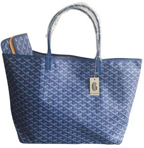 Goyard Saint Louis St Louis Gm Tote in Blue
