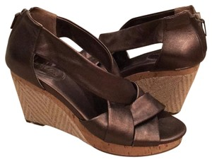 Cole Haan Bronze Wedges