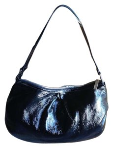 Hobo International Patent Leather Hobo Bag