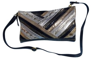 The Sak Leather Vintage Unique Multicolor Cross Body Bag