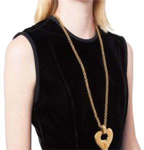 Chanel vintage heart necklace