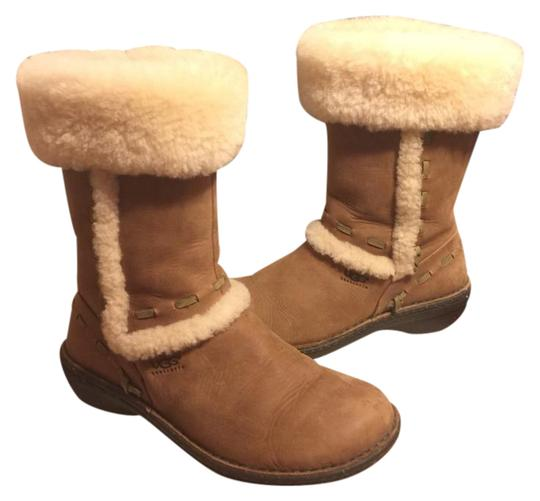 Preload https://img-static.tradesy.com/item/20624255/ugg-australia-chestnut-tanoff-white-leathersheepskin-elijo-15-sn-5137-bootsbooties-size-us-7-regular-0-1-540-540.jpg