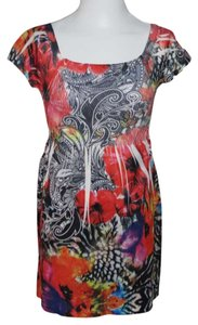 J J Authentic short dress Multicolor on Tradesy