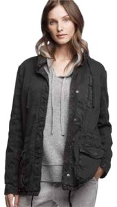 James Perse Twill Ultility charcoal grey Jacket