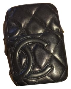 Chanel Chanel cambon pouch Quilted lambsking leather