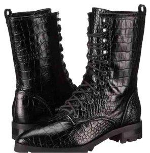 Luxury Rebel Combat boots 8 black Boots