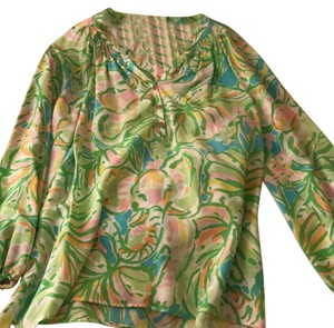 Lilly Pulitzer Top Green