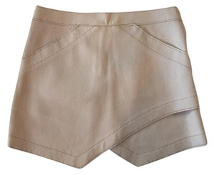 BCBGMAXAZRIA Mini Skirt Light Pink/ Neutral