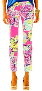 Lilly Pulitzer Skinny Pants Multi-Color