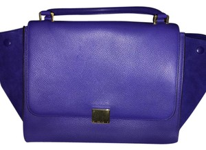 Céline Satchel in Indigo Blue