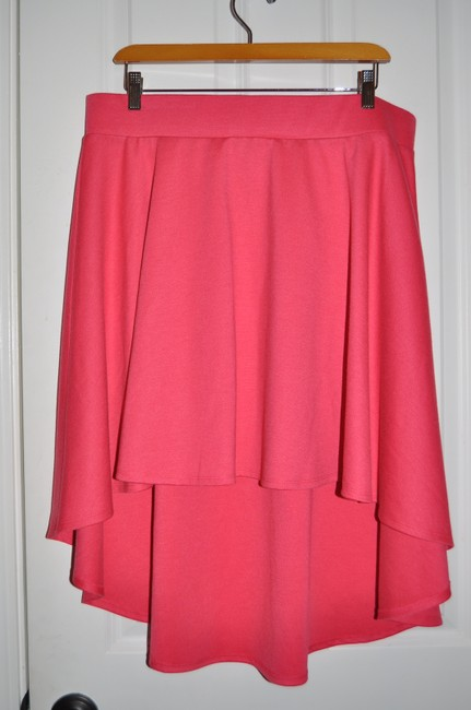 Torrid Casual Skater Date Night Valentine's Day Skirt Red Hilo Image 4
