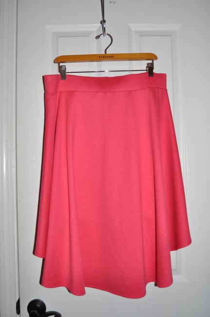 Torrid Casual Skater Date Night Valentine's Day Skirt Red Hilo Image 5