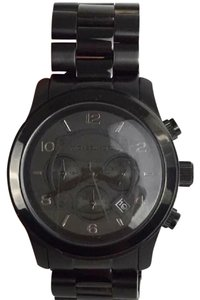 Michael Kors MICHAEL KORS Black Large Bracelet Watch!