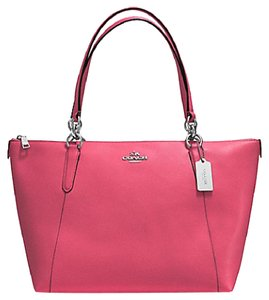 Coach Rare Sold Out Valentine's Day Ava Tote in Strawberry Pink