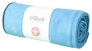 Manduka new Manduka eQua Yoga Mat Towel in Playa