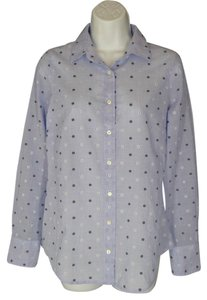 J.Crew Perfect Cotton Button Down Shirt