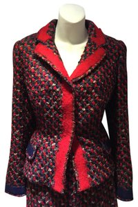 Prada Prada Boucle Tweed Skirt Suit
