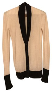 Martin + Osa Striking Ribbed Classy Cardigan Drapes Sweater