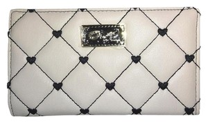 Betsey Johnson LUV BETSEY QUILTED DIAMONDS bi fold wallet