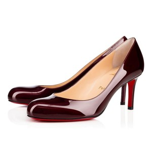 Christian Louboutin Simple Louboutin Simple Size 38.5 Red Simple Red Orthodoxe Pumps