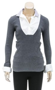 Brunello Cucinelli Top Gray