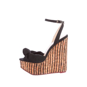 Charlotte Olympia black Wedges