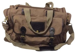 Eddie Bauer khaki brown Travel Bag