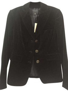 Banana Republic Velvet Black Blazer