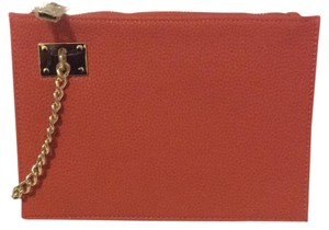 Sondra Roberts Orange/ Gold Clutch