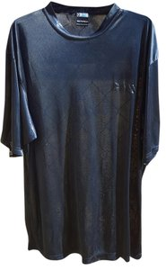 South Pole Collection Sheer Polyester T Shirt Navy Blue