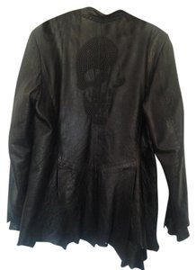 Jaded by knight Leather Jacket