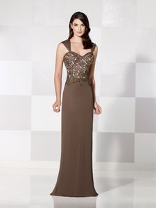 Cameron Blake Coffee/Nude 115605 Dress
